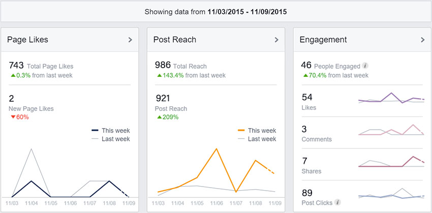 Facebook Insights Summary