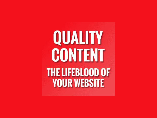 Your Website is Your Lifeblood