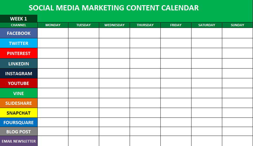 Social Media Step – The Planning Stage